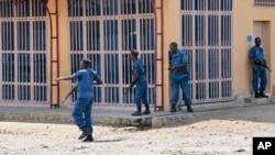 Tensões no Burundi