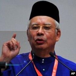 馬來西亞總理納吉(資料圖片)