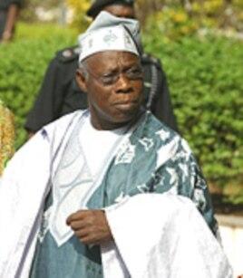 Former Nigerian President Olusegun Obassanjo