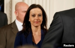Заместитель советника президента по нацбезопасности Дина Пауэлл, 2017