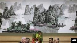 2008年陈炳德上将在北京会晤美国基廷上将