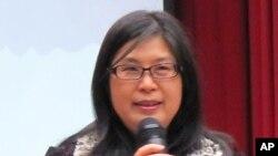 台灣主管大陸事務的陸委會主委賴幸媛。