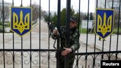 Belbek havo bazasida Ukraina kuchlari joylashgan