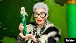 عروسک باربی ساخته شده با الهام از «آیریس آپفل» اسطوره مد