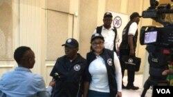 L'équipe des observateurs électoraux de la SADC au Botswana.