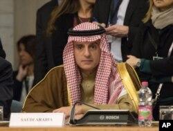 Ngoại trưởng Ả Rập Xê-út Adel al-Jubeir.