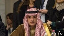Le ministre saoudien des Affaires étrangères Adel al-Jubeir, à Rome, le 2 février 2016. (Nicholas Kamm, Pool via AP)