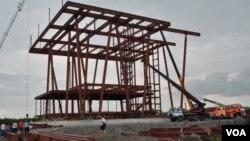 """იუსტიციის სახლის მშენებლობა ჯერ არარსებულ """"ქალაქ ლაზიკაში"""""""