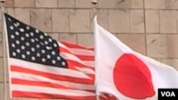 美日國旗。