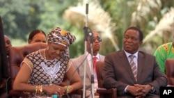 Amai Grace Mugabe naVaEmmerson Mnangagwa