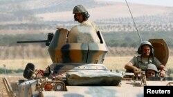 土耳其在爆炸發生後加強巡邏與敘利亞接壤的邊境地帶