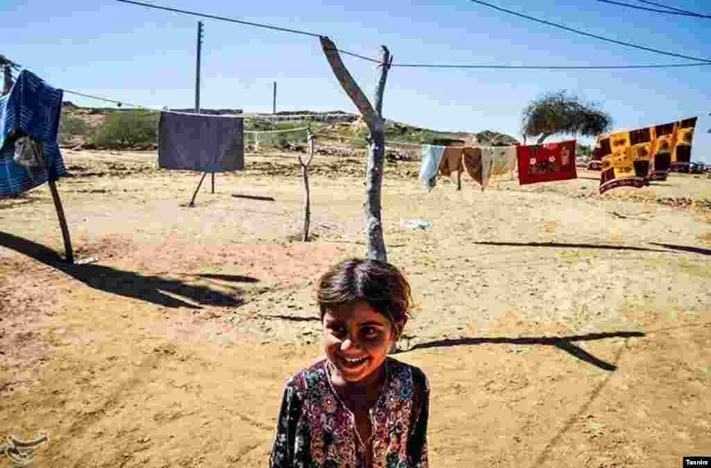 خسارت سیل در روستایی آبکان چابهار عکس: مهین محمد زاده