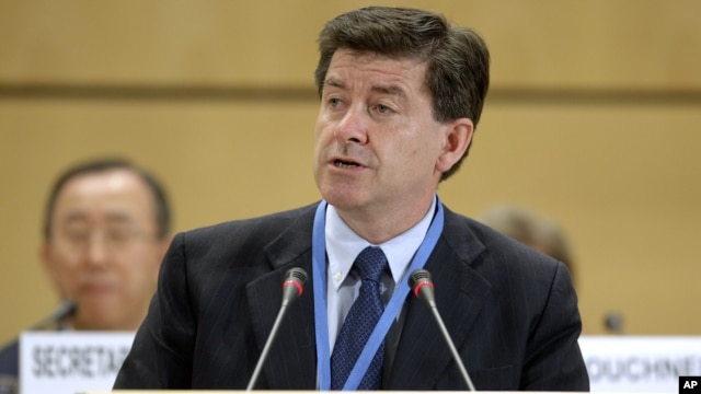 Ông Guy Ryder, Tổng giám đốc Tổ chức Lao động Quốc tế ILO.