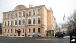 روس کے شہر سینٹ پیٹربرگ میں برطانونی قونصل خانے کی عمارت۔