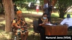 Zimbabwe Information Minister Monica Mutsvangwa