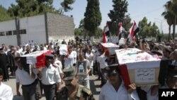 Похорон жертв заворушень у Сирії