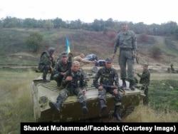 Shavkat Muhammad sheriklari bilan, Ukraina sharqi
