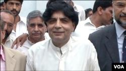 پاکستان مسلم لیگ نون کے راہنما نثار چوہدری