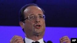 Sabon shugaban Faransa, Francois Hollande