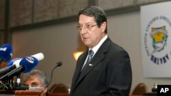Tổng thống Chypre Nicos Anastasiades.