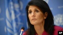 니키 헤일리 유엔주재 미국대사.