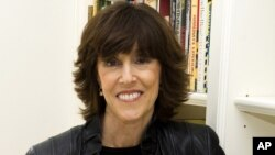 Author, screenwriter and director Nora Ephron at her home in New York.
