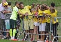 Neymar of Brazil.