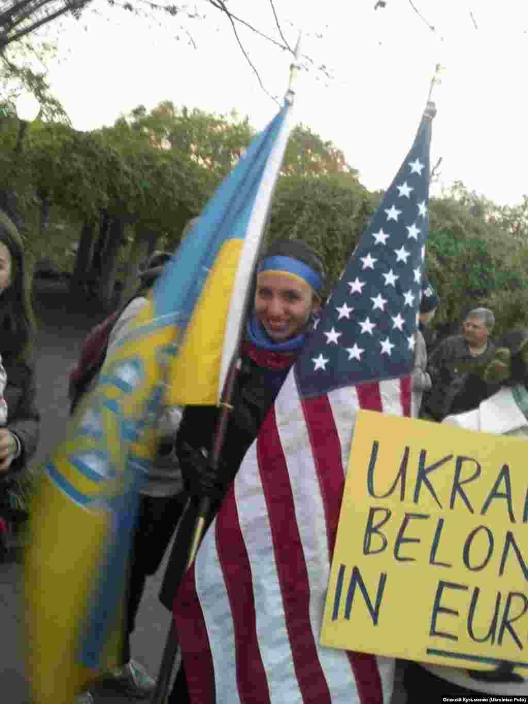 Вашингтон. Посольство України