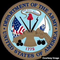 The U.S. Army emblem.
