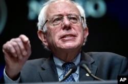 Demokrat Partili Vermont Senatörü Bernie Sanders yarışı bırakmamaya kararlı