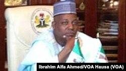 Gwamnan jihar Borno Ibrahim Shettima.