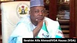 Gwamnan jihar Borno Ibrahim Shettima