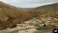 Abu-Barik qishlog'i, Badaxshon, Afg'oniston.