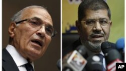 Ахмед Шафик и Мохаммед Мурси
