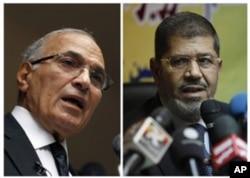 Ahmad Shafiq, Muhammad Mursi