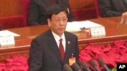 中国最高人民检察院检察长曹建明作报告(资料照片)