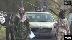 Shugaban 'yan kungiyar Boko Haram Abubakar Shekau, Oktocba 2, 2014.