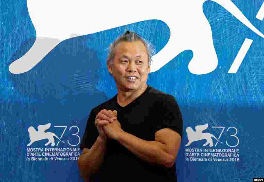 کارگردان کیم کی دوک با فیلم Geumul در جشنواره ونیز.