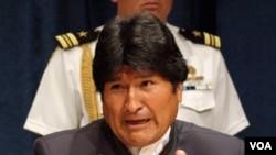 Evo Morales llegó a la ONU desde donde dijo que su país reclama una revolución en la ONU.