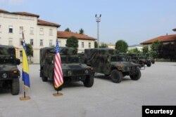 Vlada SAD-a donirala Oružanim snagama BiH vozila Humvee, Sarajevo, 3. juli 2019.
