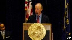 美国印第安纳州州长米奇·丹尼尔斯