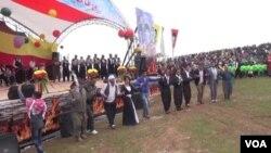 Pîrozbahîya Newrozê li Efrînê