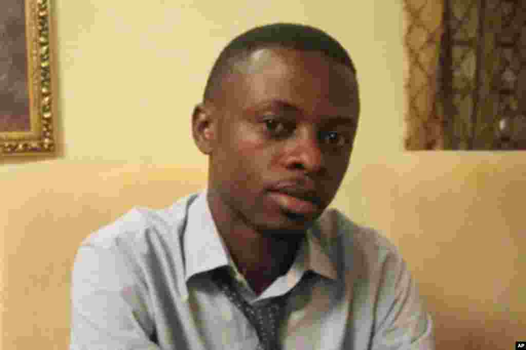 Daddy Fariala, Citoyen journaliste à Lubumbashi, Katanga, RDC (novembre 2011)