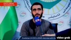 Mohamad Jamal Khweis, công dân Mỹ, nói anh đã quyết định sai khi theo một thiếu nữ tới Mosul ở Iraq. Ảnh chụp từ video Kurdish24 ngày 17/3/2016.