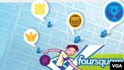 """Los usuarios de Foursquare pueden convertirse en """"alcaldes"""" de un sitio solo informando que están allí."""