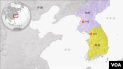 朝鲜和韩国地理位置