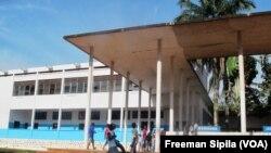 Une vue du Lycée Barthélémy Boganda de Bangui, en Centrafrique, le 2 octobre 2017. (VOA/Freeman Sipila)
