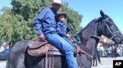 黑人牛仔游行
