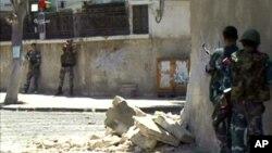 В Дамаске идут уличные бои (архивное фото)