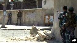 Продолжаются уличные бои в Дамаске (архивное фото)